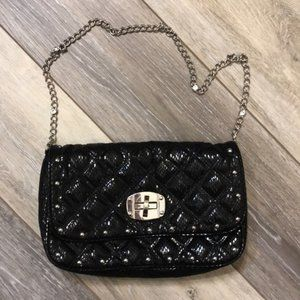 WHBM | Shimmery Quilted Handbag